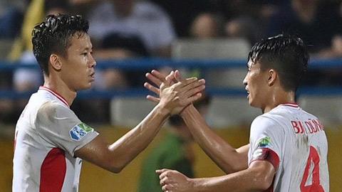 Các tuyển thủ CLB Viettel đang tự cách ly tại Bangkok