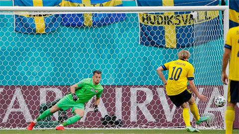 "Tường thuật Thụy Điển 1-0 Slovakia<span class=""lived""></span>"