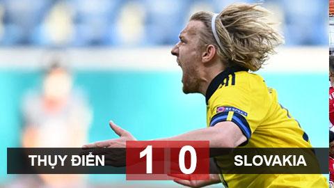 Kết quả Thụy Điển 1-0 Slovakia: Forsberg giúp Thụy Điển giành thắng lợi quý giá