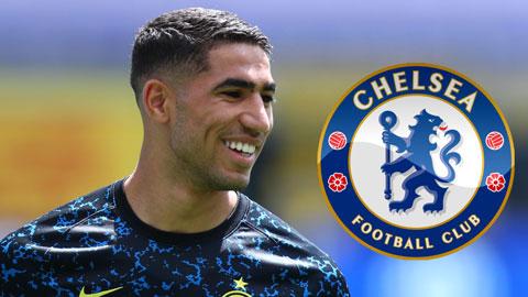 Chelsea đạt thỏa thuận cá nhân với Hakimi