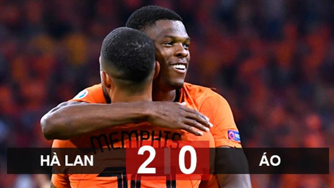 Kết quả Hà Lan 2-0 Áo: Cơn lốc Cam giành vé vào vòng knock-out