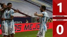 Argentina vs Uruguay: 1-0 (Copa America 2021)