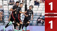 Croatia vs CH Czech: 1-1, Perisic giải cứu Croatia