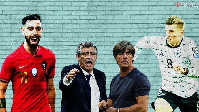 Đi tìm đội hình chính trận Đức vs Bồ Đào Nha