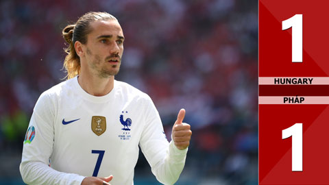 Hungary vs Pháp: 1-1, thi đấu nghẹt thở, Hungary gây ngỡ ngàng