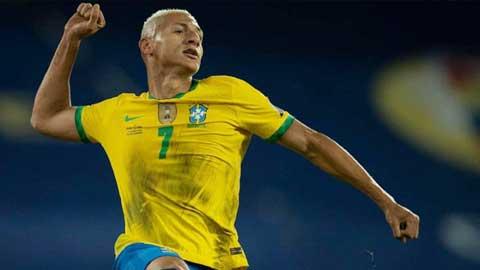 Richarlison, chân sút đa năng của ĐT Brazil