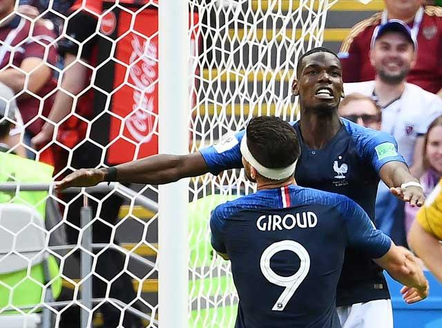 Pogba đang dần tạo nên tầm ảnh hưởng lớn ở ĐT Pháp