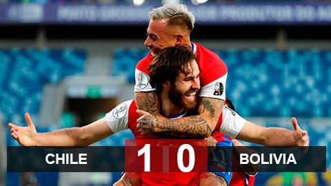 Kết quả Chile 1-0 Bolivia: Chiến thắng xứng đáng