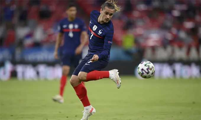 Griezmann đã góp mặt trong 49 trận gần nhất của ĐT Pháp