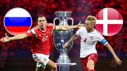 Nhận định bóng đá Nga vs Đan Mạch, 02h00 ngày 22/6: Lính chì đì Gấu Nga