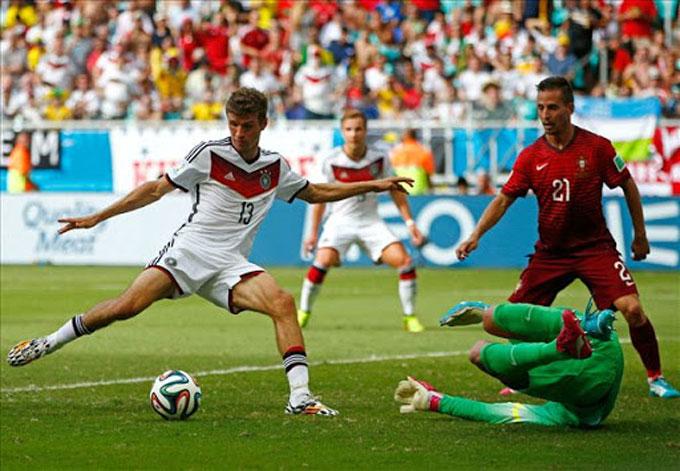 Đức đã thắng Bồ Đào Nha ở 4 lần gặp mặt gần nhất ở EURO và World Cup