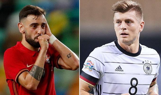 Cuộc so tài giữa 2 nhạc trưởng Bruno và Kroos sẽ rất đáng xem