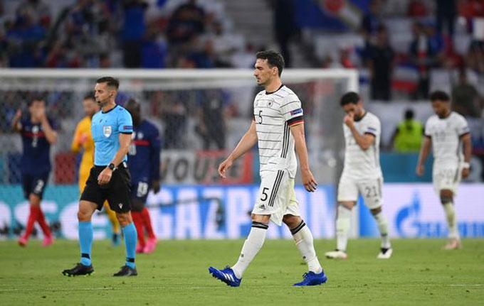 ĐT Đức ra quân thất vọng tại EURO 2020 với trận thua 0-1 trước Pháp