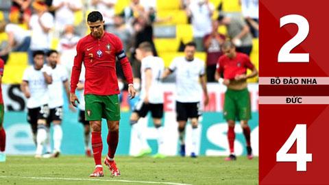Bồ Đào Nha vs Đức: 2-4, Ronaldo không cứu nổi nhà ĐKVĐ