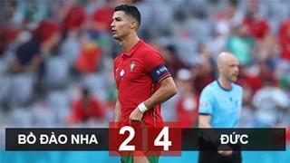 Ronaldo ghi bàn và kiến tạo, Bồ Đào Nha vẫn thua tan tác trước Đức