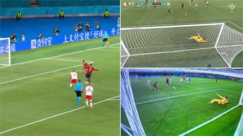 Điểm nhấn Tây Ban Nha vs Ba Lan: 'Chân gỗ' Morata lại gây sốc