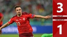 Thụy Sỹ vs Thổ Nhĩ Kỳ: 3-1, cú đúp của Shaqiri