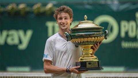 Ugo Humbert vô địch Halle Open 2021
