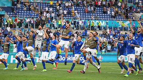 Bảng A EURO 2020 hạ màn: Italia phô trương sức mạnh