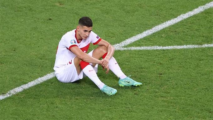 Thổ Nhĩ Kỳ thua cả 3 trận ở EURO 2020
