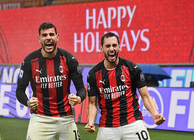 Milan đang nỗ lực giữ chân Theo Hernandez và Hakan Calhanoglu