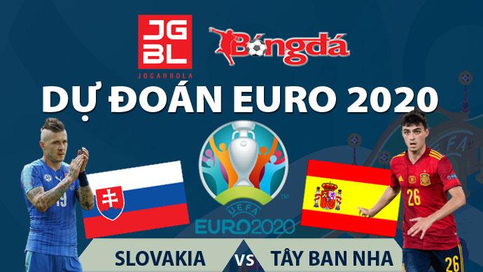 Dự đoán EURO 2020 trúng thưởng: Slovakia vs Tây Ban Nha