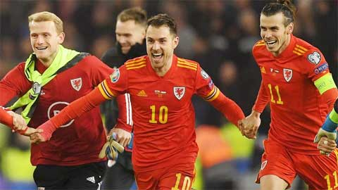 ĐT Wales hy vọng lặp lại kỳ tích  ở EURO 2016