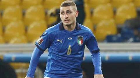 Cỗ máy Italia không thể thiếu Verratti