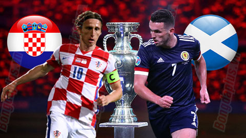 Soi kèo Scotland vs Croatia, 02h00 ngày 23/6: Tài trận Scotland - Croatia