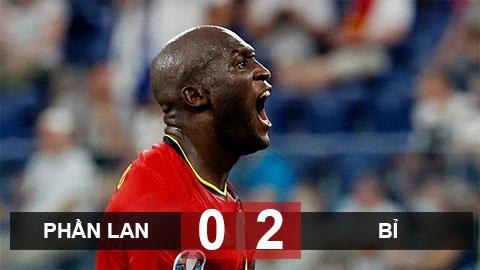 Kết quả Phần Lan 0-2 Bỉ: ĐT Bỉ 'chung mâm' với Italia và Hà Lan