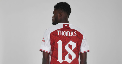 Partey sắp được chuyển sang áo số 5 tại Arsenal