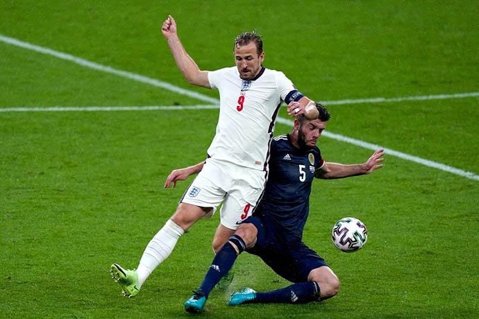 Kane đang chơi tệ ở EURO 2020
