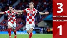 Croatia vs Scotland: 3-1, Modric lập siêu phẩm, Croatia thắng tưng bừng