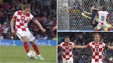 Khoảnh khắc EURO: Cú trivela ngoạn mục của Modric ở tuổi 35