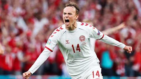 Damsgaard, ngôi sao trẻ chào sân