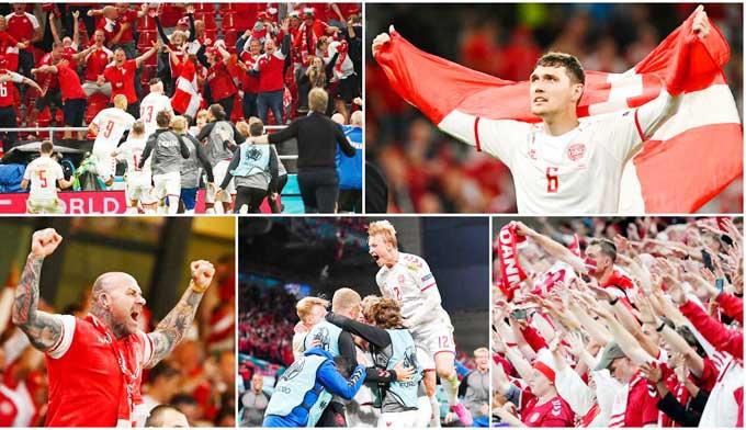 Dù thua 2 trận đầu, nhưng Đan Mạch bất ngờ giành vé chính thức vào vòng knock-out