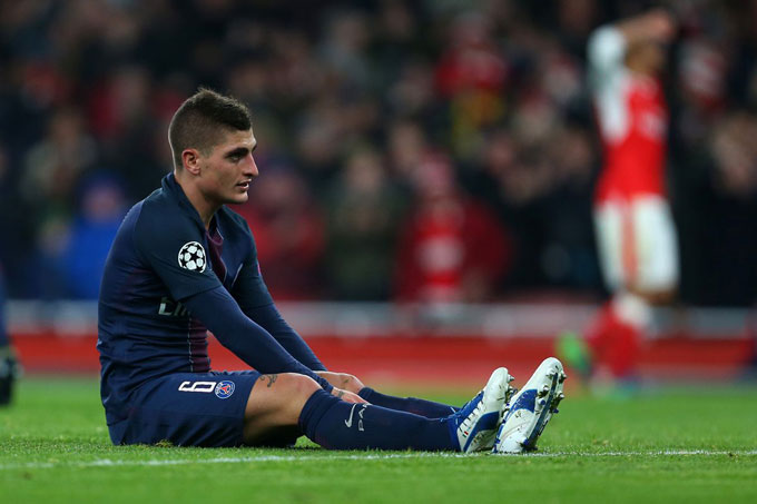 Chấn thương hồi tháng 5 tưởng như khiến Verratti mất đi cơ hội được tham dự EURO 2020