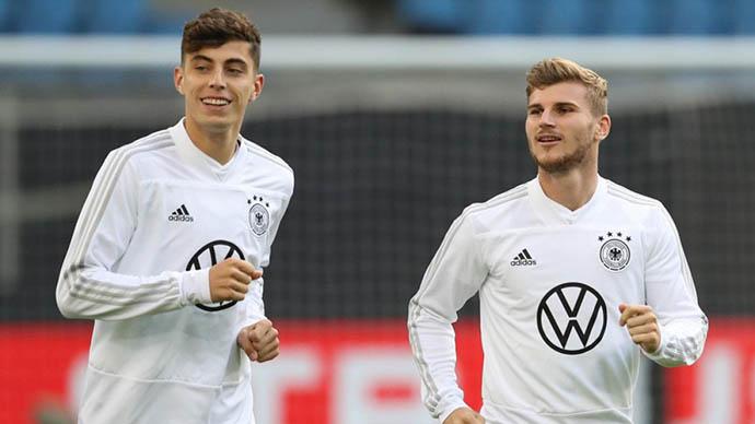 Werner (phải) sẽ được trao <span class='marker'>cơ hội</span> ở trận gặp Hungary?