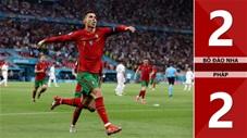 Bồ Đào Nha vs Pháp: 2-2, lập cú đúp, Ronaldo đi vào lịch sử