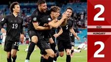Đức vs Hungary: 2-2, Goretzka ghi bàn thắng quý giá giúp Đức thoát hiểm