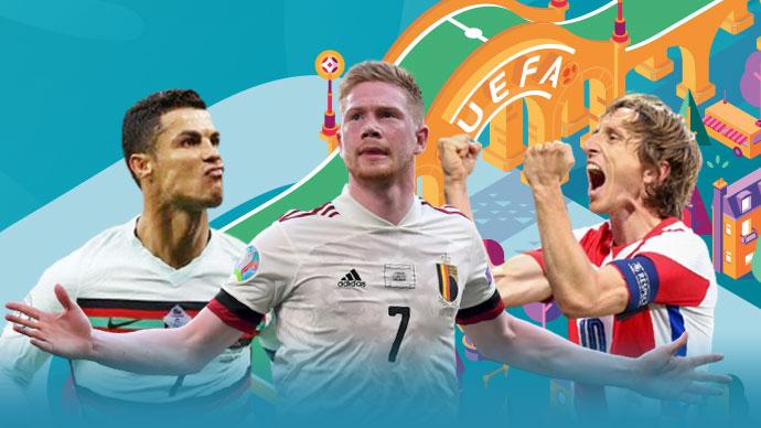 Đội hình tiêu biểu vòng bảng EURO 2020: Ronaldo điểm số cao nhất