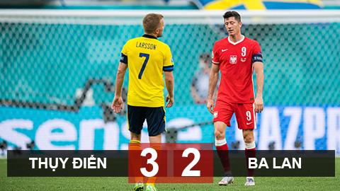 Kết quả Thụy Điển 3-2 Ba Lan: Mình Lewandowski tỏa sáng là chưa đủ