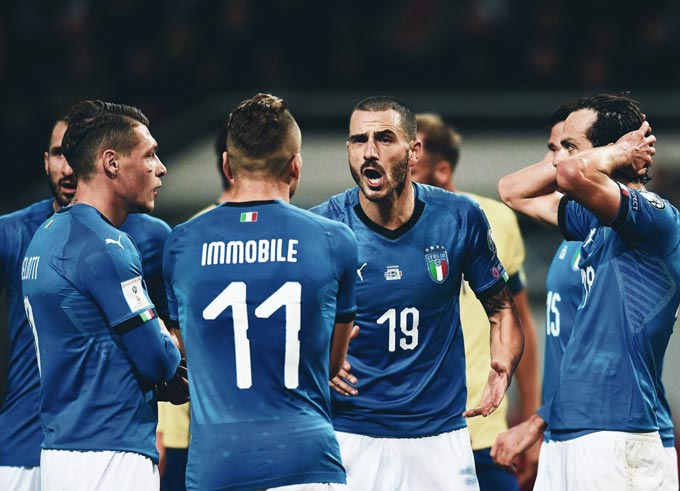 Rất khó để cản Italia thời điểm này