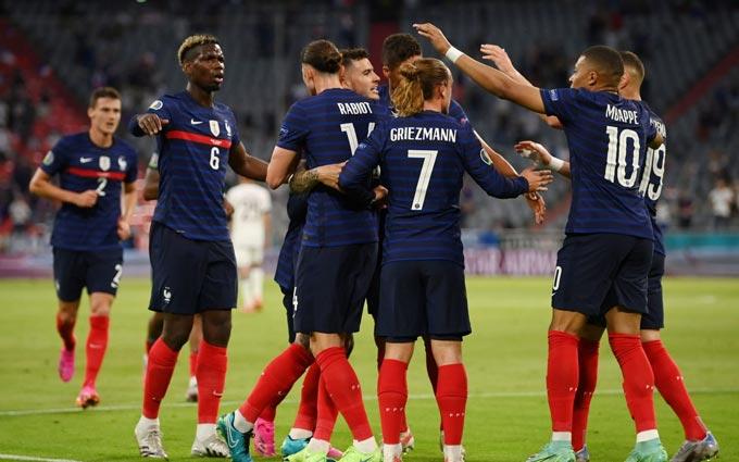Pháp chưa chơi đúng với 100% sức mạnh