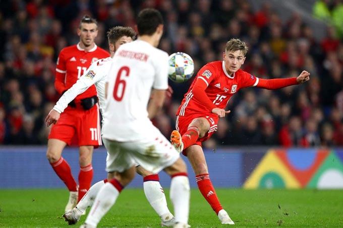 Xứ Wales đã chơi ấn tượng ở EURO 2020