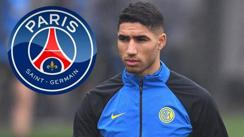 Vượt Chelsea, PSG đồng ý hợp đồng kỷ lục với Hakimi