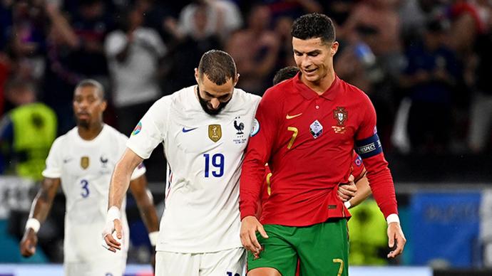Tường thuật Bồ Đào Nha 2-2 Pháp, Đức 2-2 Hungary