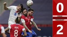 Chile vs Paraguay: 0-2 (Bảng A Copa America 2021)
