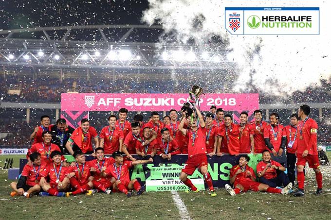 Herbalife Việt Nam đồng hành cùng giải AFF Suzuki Cup 2020  dự kiến sẽ tổ chức vào tháng 12 năm 2021