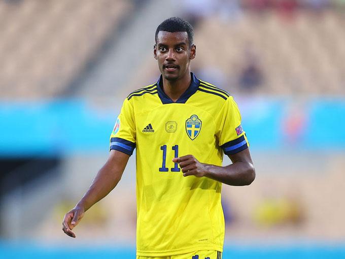 Isak đang thi đấu rất hay tại EURO 2020
